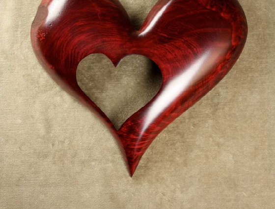 Red Heart Wood